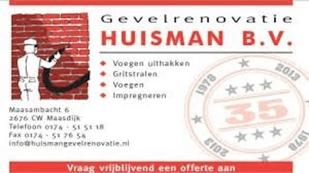 Gevelrenovatie Huisman